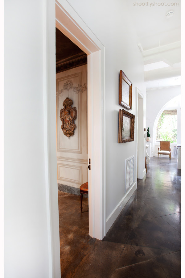 Atchison Αρχική | trompe l'oeil επένδυση | Powder Room