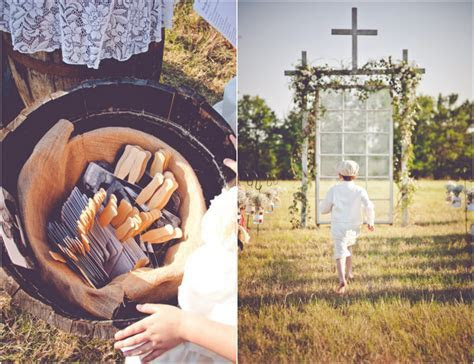 Burlap Inspired Country Wedding: Trudie   Robbie   Rustic