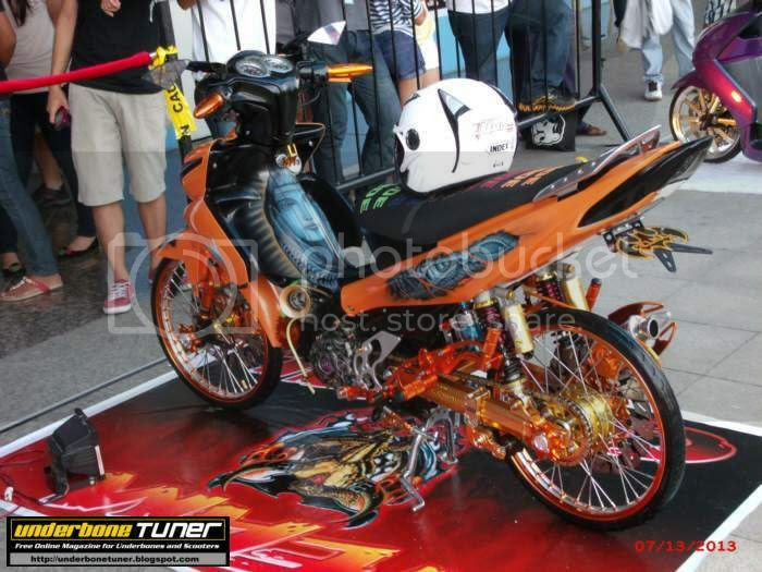 Underbone Tuner: Modified Yamaha Vega Force By Team Celmal