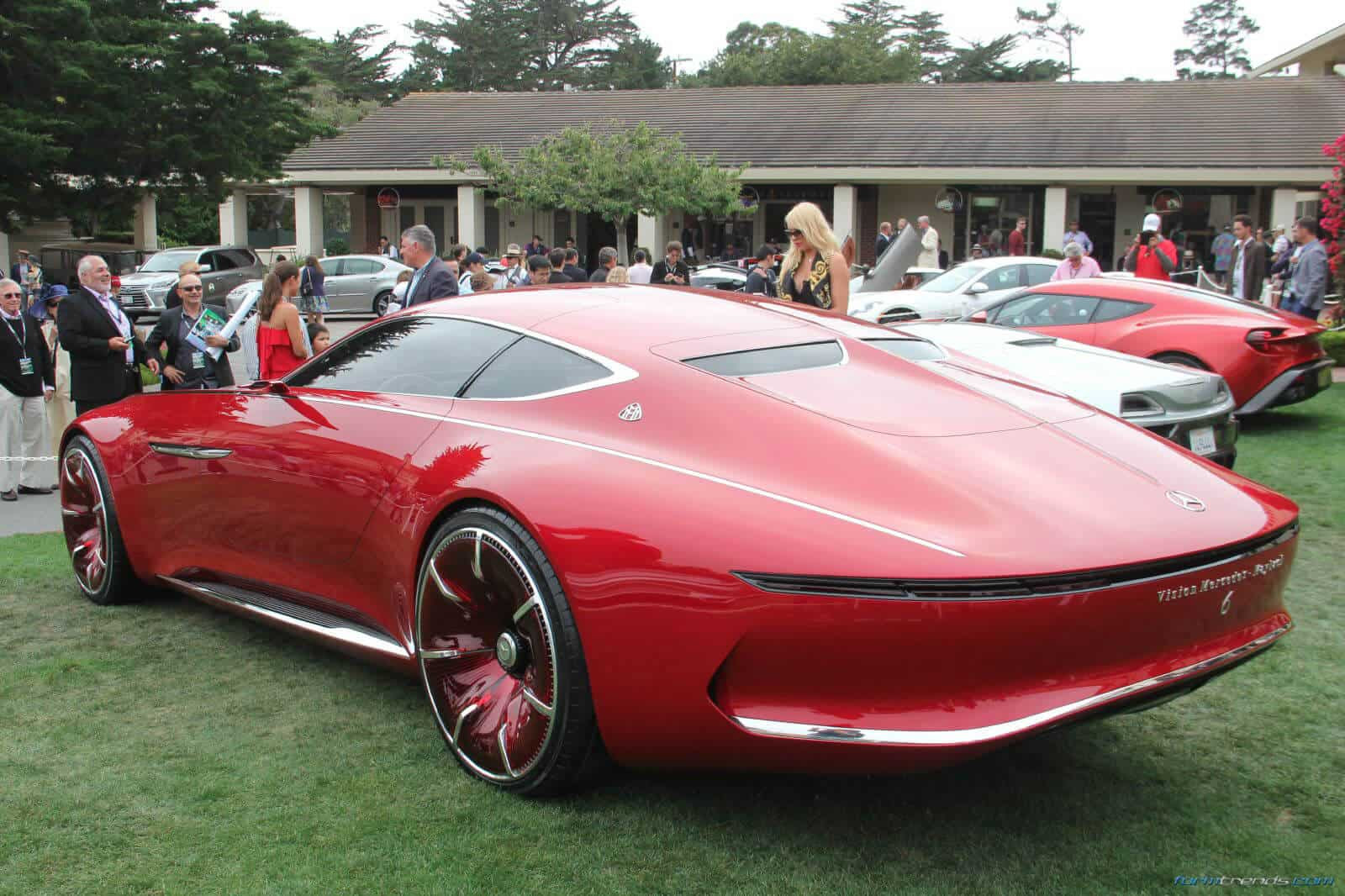 Vision Mercedes-Maybach 6 Car Explained by Design VP