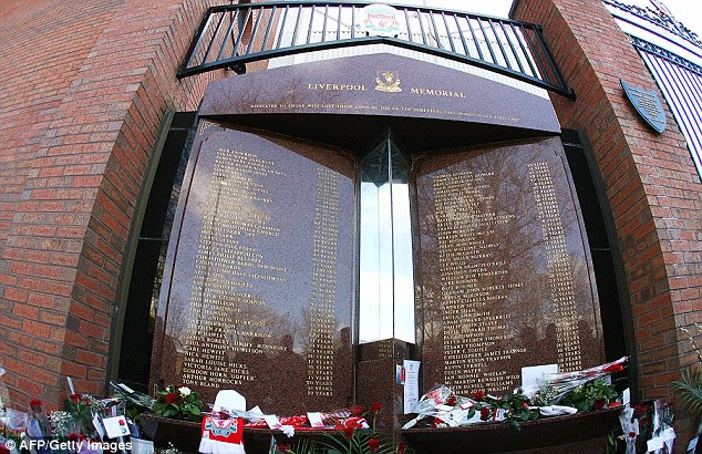 The Hillsborough Memorial at Anfield has been relocated during the redevelopment work on the stadium