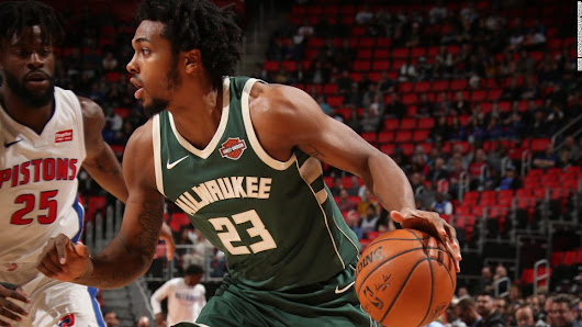 Officers disciplined for arrest of NBA's Sterling Brown, police chief says - CNN