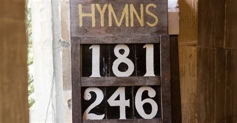 Hymns for your wedding