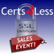 Certs 4 Less Fall Special SSL Certificates Promotion