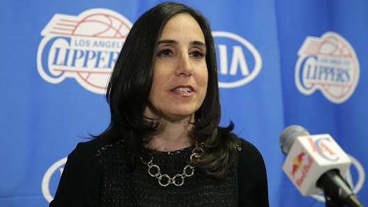 Clippers' hiring of Gillian Zucker praised by Coach Doc Rivers