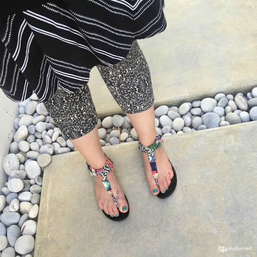 Injecting a Little Life {LuLaRoe Leggings Giveaway} -- Life Unadorned