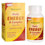 Enzymatic Therapy Fatigued to Fantastic! Daily Energy B Complex Vitamin | 30 Veg Caps | Vitamin C