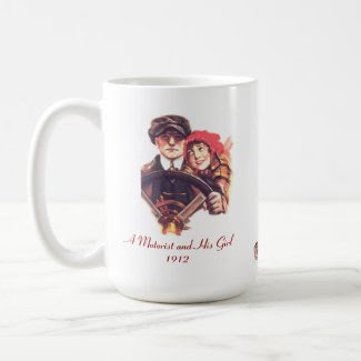 A Motorist and His Girl mug