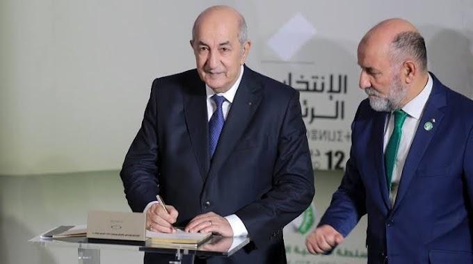 🔴 Urgente | Abdelmadjid Tebboune elegido presidente de Argelia.