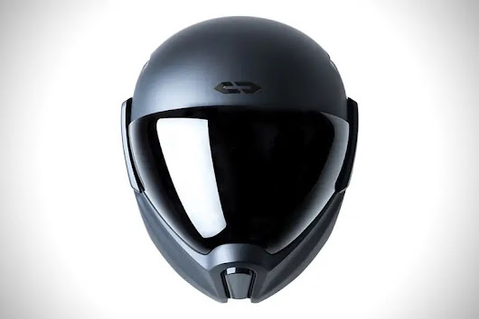 Japanese company launches CrossHelmet,an advanced Helmet for motorbikes