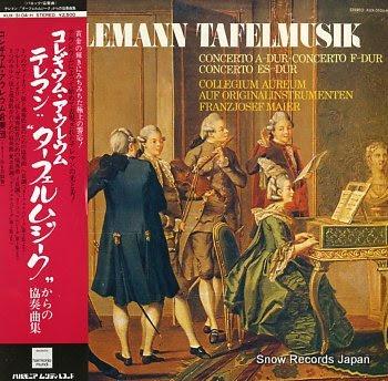 COLLEGIUM AUREUM telemann; concerto a-dur / f-dur / es-dur