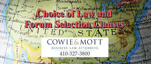 COWIE & MOTT - Contracts Law in Maryland and Washington, D.C.