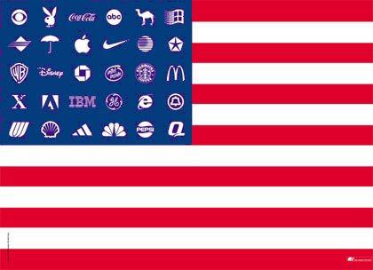 Risultati immagini per usa flag corporations
