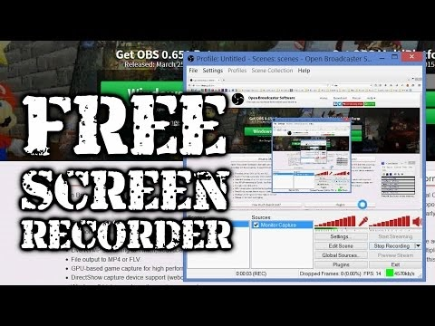 The Frugal Filmmaker: How to set up FREE screen record in OBS