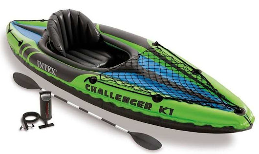 Intex Challenger K1 Kayak Review | Find best Kayak For You!