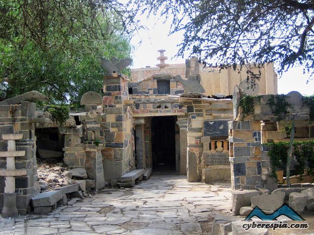 La casa de Piedra en Reque
