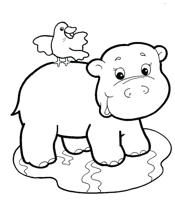 Jungle Coloring Pages For Kids - Drawing With Crayons