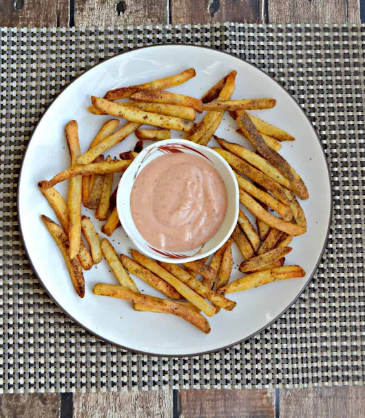 Air Fryer Old Bay French Fries + Air Fryer Giveaway - Hezzi-D's Books and Cooks