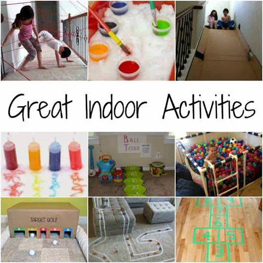 Creative Indoor Activities For a Cold Winter Day - Page 2 of 2 - Princess Pinky Girl