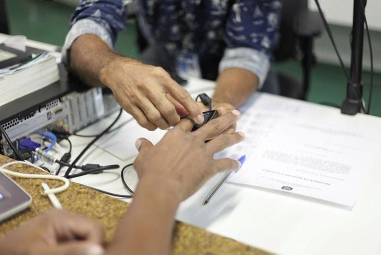 Nova fase do agendamento do cadastramento biométrico pode ser feito pelo 0800 - Foto: Wallace Cardozo   Divulgação