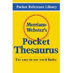 Merriam - Webster Inc. MW-524X Merriam Websters Pocket Thesaurus