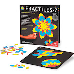 Fractiles-7 Magnetic Mosaic Tiles Toy Set