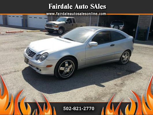 Used 2002 Mercedes-Benz C-Class for Sale in Louisville KY 40214 Fairdale Auto Sales