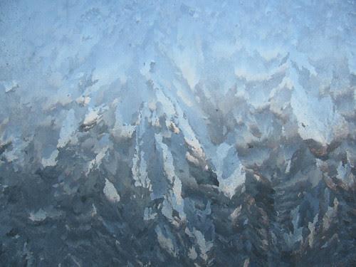 Frost on Windoww