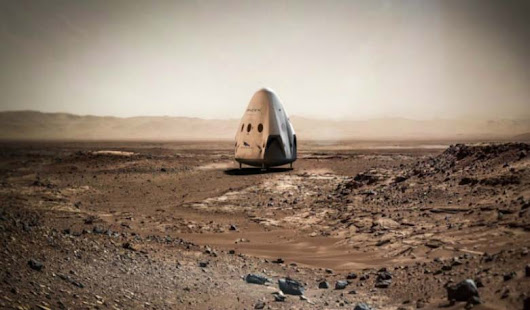 SpaceX Announces Plans for Mars Mission.