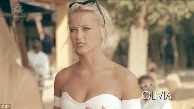 The other woman:On last week's episode of the MIC: South Of France summer spin-off, viewers were shocked to discover Alex had  slept with co-star Olivia Bentley