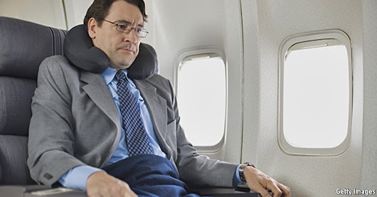 Frequent flyers: The sad, sick life of the business traveller | The Economist