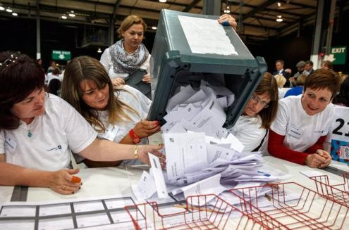 Escócia rejeita independência em referendo com participação recorde