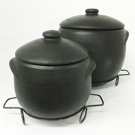 Brazilian Clay Stock Pot, Caldeiro de Barro Capixaba | Ancient Cookware