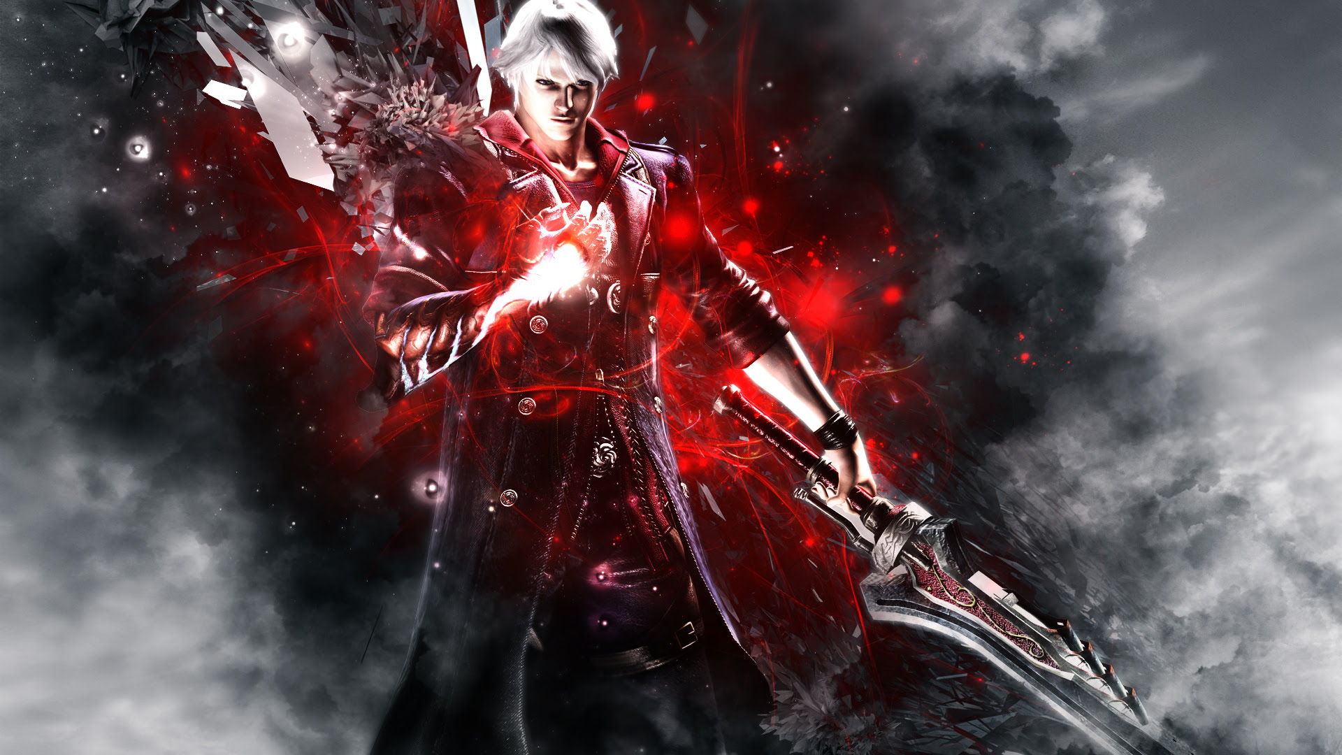 Nero Wallpaper Devil May Cry 4 Wallpaper 36337836 Fanpop