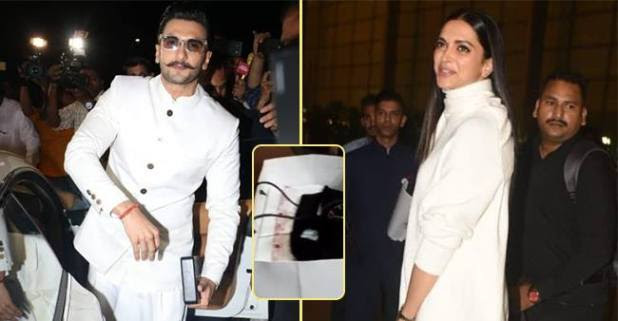 Deepika and Ranveer Left For Italy And Their Baggage Hints, They Are Going To Wear Sabyasachi