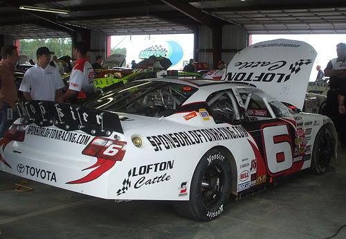 Lofton's car