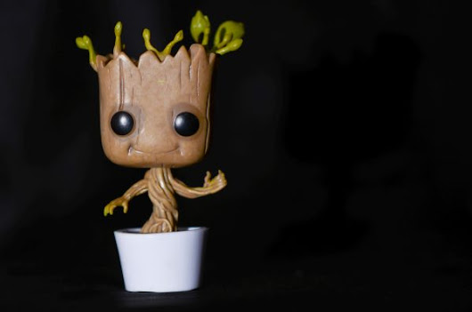 Dancing Groot Bobble-head - Cubicle Decor Zone