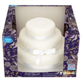ASDA Extra Special 3 Tier Occasion Fruit Cake   cakes/cake