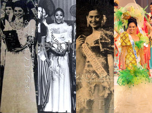 Philippine National Costume at Miss International