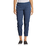 Eddie Bauer Laides' Relaxed Twill Jogger, Blue