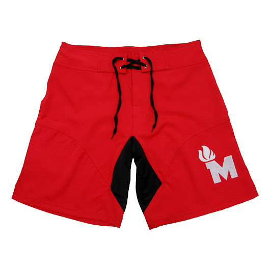 Maximus Shorts Crimson Red