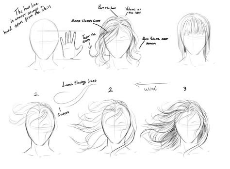 drawing step  step hair google search drawings