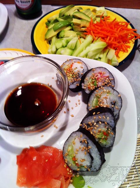 IMG_5959 Sushi night!