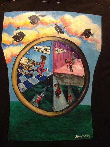 """Denise Theil's jacket """"Graduations"""""""