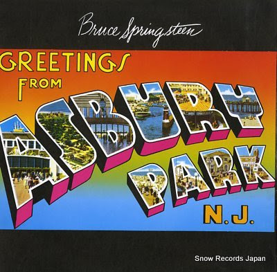 SPRINGSTEEN, BRUCE greetings from asbury park, n.j.