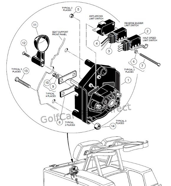 2000 Club Car Wiring Diagram 36 Volt