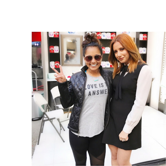 Daybreaker with Ashley Tisdale Launching DUO by Olay and Old Spice - Veena Goel Crownholm