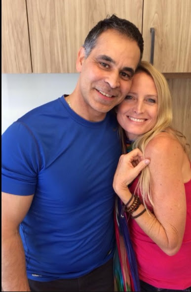 Sex cult leader Mas Sajady and alleged mistress Jane Sibbett