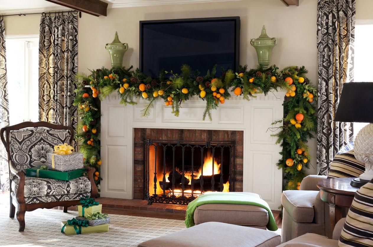 16 Fireplace Decoration Ideas With Christmas Spirit I Do Myself