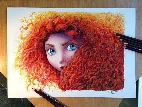 votre art colored drawings  young artist dino tomic